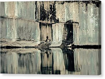 Quarry Canvas Print by Gillis Cone