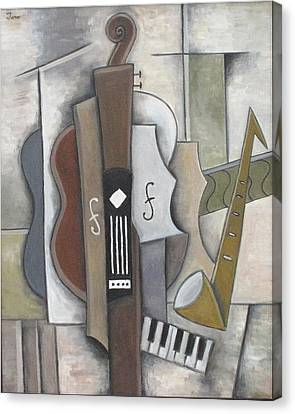 Quartet Canvas Print by Trish Toro
