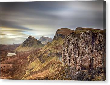 Canvas Print featuring the photograph Quiraing - Isle Of Skye by Grant Glendinning