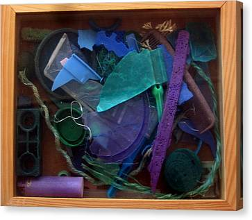 Rainbow Beach Box II Canvas Print by Adam Kissel