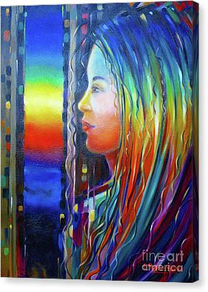 Rainbow Girl 241008 Canvas Print