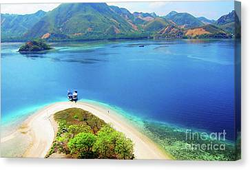 Pyrography Canvas Print - Raja Ampat Island by Andy Maryanto