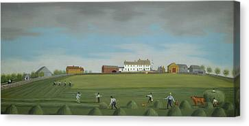 Ralph Wheelock's Farm Canvas Print