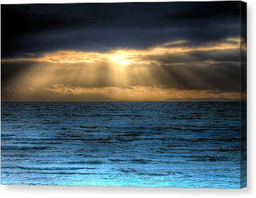 Rays Of Light 2 Canvas Print by Naman Imagery