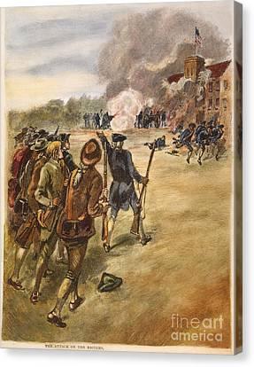 Rebels: Arsenal, 1787 Canvas Print by Granger