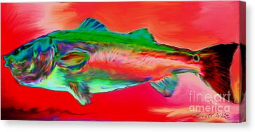 Red Drum Canvas Print by Everett White