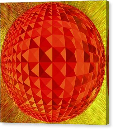 Red-globe Canvas Print by Ramon Labusch