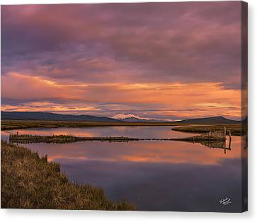 Mystical Landscape Canvas Print - Red Rock Lakes by Leland D Howard