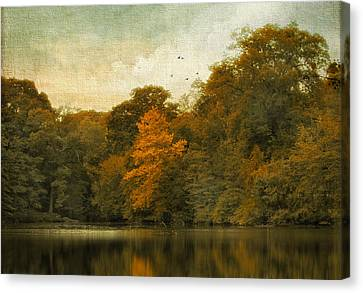 Reflecting October Canvas Print by Jessica Jenney
