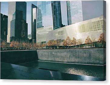 Canvas Print featuring the photograph Reflections Of Sorrow by Jessica Jenney