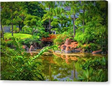 Reflections Canvas Print by Louis Ferreira