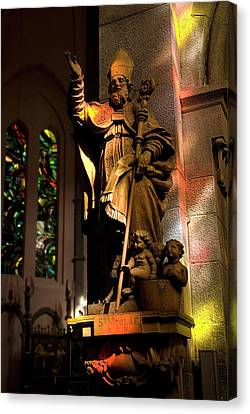 Canvas Print featuring the photograph Religion by Urft Valley Art
