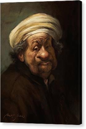 Rembrandt Canvas Print by Court Jones