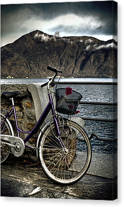 Retro Bike Canvas Print