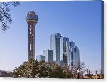 Reunion Tower Dallas II Canvas Print