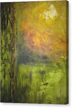 Canvas Print featuring the painting Revealing Of The Wisdom by Rushan Ruzaick