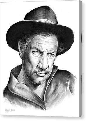 Richard Boone Canvas Print