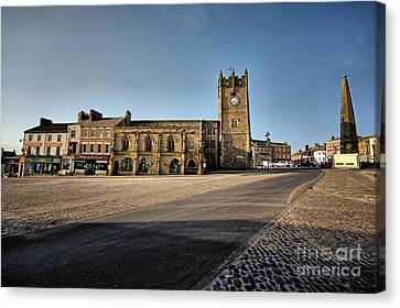 Richmond, North Yorkshire Canvas Print by Nichola Denny