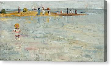 Ricketts Point, Beaumaris Canvas Print by Charles Conder