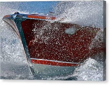 Riva Splash Canvas Print by Steven Lapkin