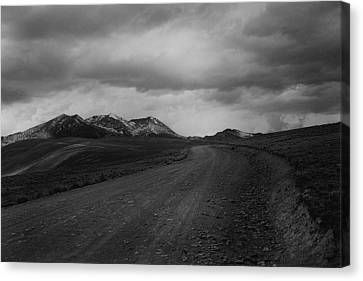 Road To Chacaltaya Canvas Print
