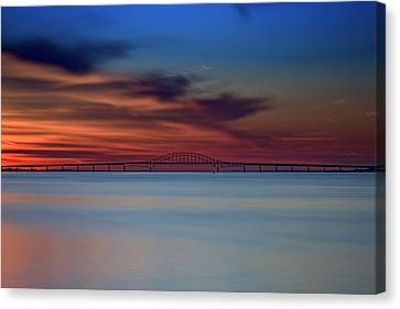 Robert Moses Causeway Canvas Print by Rick Berk