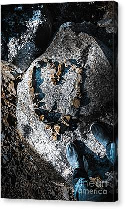 Rock Solid Love Canvas Print by Jorgo Photography - Wall Art Gallery