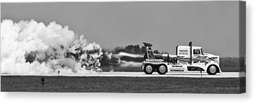Rocket Truck Canvas Print