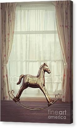 Rocking Horse Canvas Print