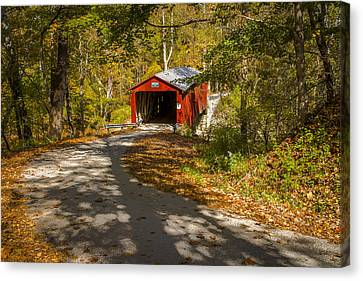 Rollingstone Covered Bridge  Canvas Print