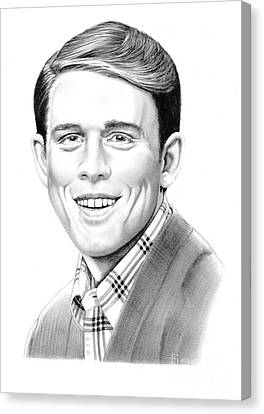 Andy Griffith Show Canvas Print - Ron Howard by Murphy Elliott