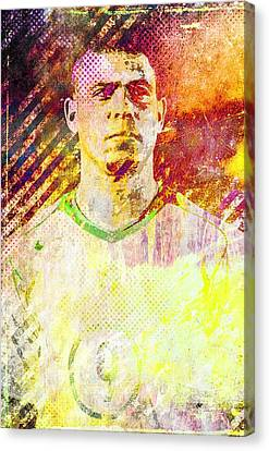 Ronaldo Canvas Print by Svelby Art