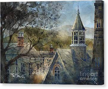 Rooftops Of Old Edwards Canvas Print