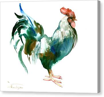 Rooster Canvas Print by Suren Nersisyan