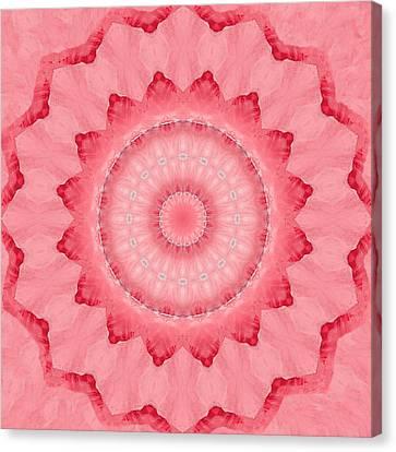 Canvas Print featuring the digital art Rose by Elizabeth Lock