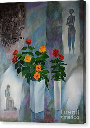 Roses Canvas Print by Jukka Nopsanen