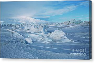 Ross Ice Shelf Canvas Print by Kevin Oconnell