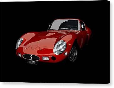 Rosso 1963 Canvas Print