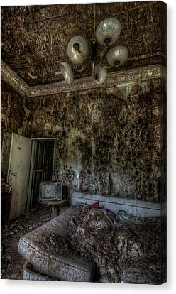 Rotten Sleep Canvas Print by Nathan Wright