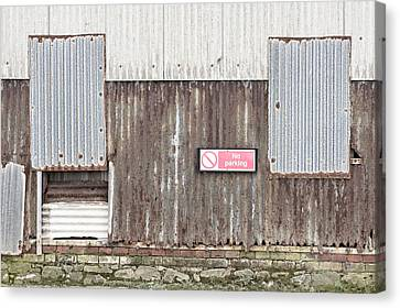 Rusted Metal Canvas Print by Tom Gowanlock