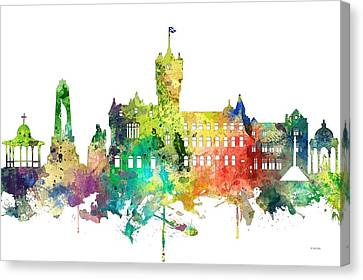 Rutherglen Scotland Skyline Canvas Print