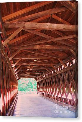 Sachs Bridge Canvas Print