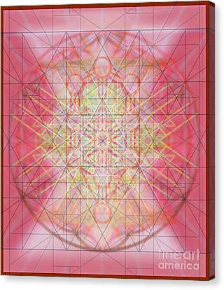 Sacred Symbols Out Of The Void 1b Canvas Print by Christopher Pringer