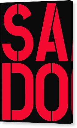 Sado Canvas Print by Three Dots