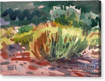 Sagebrush Canvas Print by Donald Maier