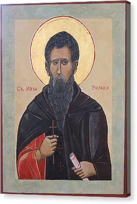 Saint Ivan Rilski Canvas Print by Phillip Schwartz