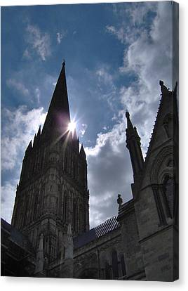 Salisbury Sunburst Canvas Print