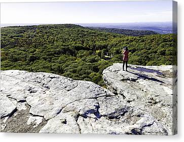 Sams Point Overlook Canvas Print