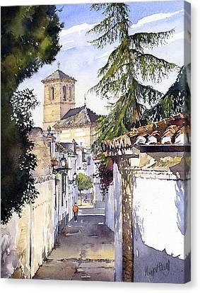 San Bartolome Albaicin Granada Canvas Print