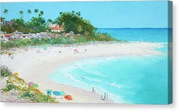 San Clemente Beach California Canvas Print by Jan Matson